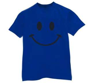 Retro Smiley Face T Shirt funny cool tee 80s look