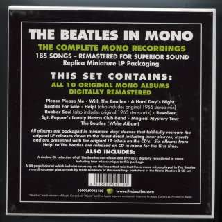Beatles Mono Limited Edition 13 Mini LP CD Box Set 2009 Remastered New