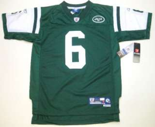 NFL Reebok New York Jets Mark Sanchez #6 Stitched/Premier Youth Green