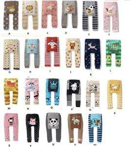 NEW BABY TODDLER BOY/GIRL LEGGINGS TROUSER PANTS CUTE DESIGNS UNISEX 6