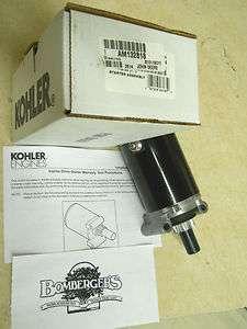 John Deere Starter STX30 STX38 STX46 LT133 LT150 LT155 LT160 S2048