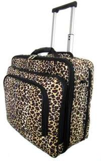 16 Computer/Laptop Briefcase Padded Upright Rolling Traveling Bag