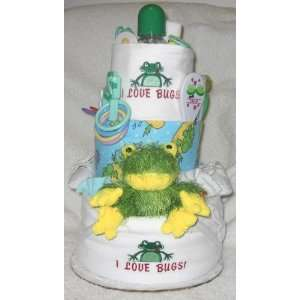 3 Tier Froggy Baby Diaper Cake Baby