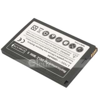 1800mAh Li Ion Battery + Wall Home Charger for Dell Streak Mini 5 New