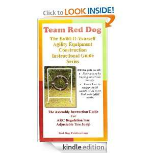 Guide for AKC Regulation Size Adjustable Tire Jump (Team Red Dog