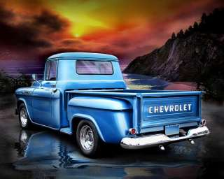 1957 CHEVY PICKUP TRUCK CROSS STITCH PATTERN