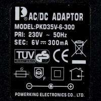Retro Digital Auto Flip Page Gear Alarm Clock With LED Light EU Plug