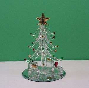 decorations this listing is for a miniature glass christmas tree
