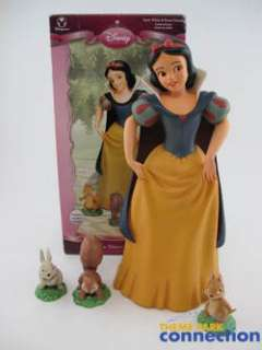 Disney SNOW WHITE & 7 Dwarfs Princess Friends Big Fig Garden Statue 4