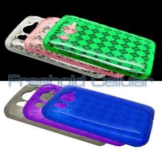 6x Diamond Flex Gel Skin Cover Cases for HTC Inspire 4G