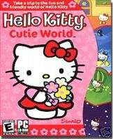 HELLO KITTY KIDS GAME SOFTWARE & ACTIVITY CD PC NEW