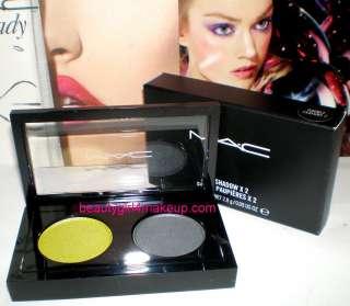 MAC Cosmetics Pro Palette Eye Shadow Eyeshadow X 2 Duo MANY COLORS nib