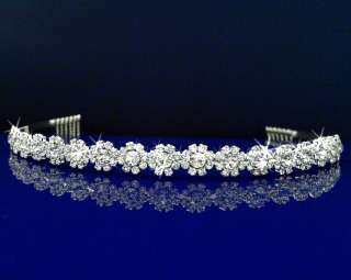 Wedding Bridal Homecoming Prom Party Crystal Tiara Headband 26336