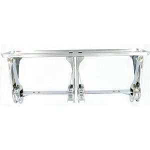 Double Roll Economy Paper Holder in Polished Chrome