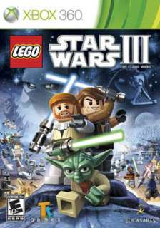 Xbox 360   LEGO Star Wars III The Clone Wars