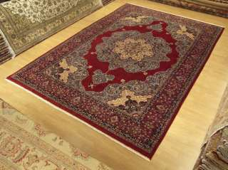 9x12 beautiful handmade persian isfahan new wool rug