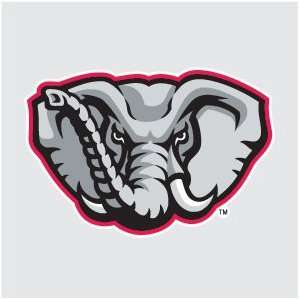 ALABAMA Crimson Tide ELEPHANT MASCOT 4 Logo vinyl decal car truck