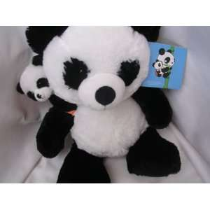 Panda Bear with Baby Plush 15 Collectible Everything