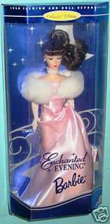 MATTEL ENCHANTED EVENING BARBIE DOLL BRUNETTE 15407