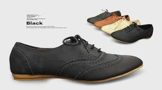 Classics Womens Shoes Lace Up Dress Oxfords Low Flats Heels Multi