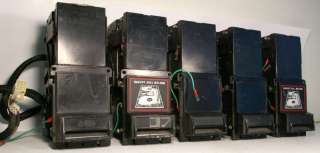 DIXIE NARCO USA 15 Dollar Bill Acceptors 5 pcs