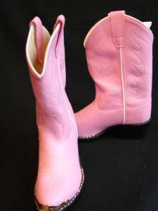 Pink & Black Cool Western Cowgirl Kids riding show boots Youth & kids