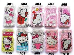 Hello kitty bling Rhinestone Case Samsung Galaxy i9000