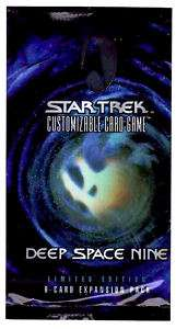 Star Trek CCG Deep Space Nine Sealed Booster Pack
