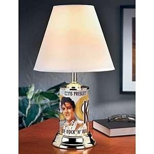 Elvis King of Rock Lamp