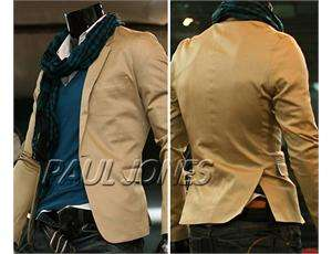 PAUL JONES Men Slim Fit top designed One button Casual jacket Coat