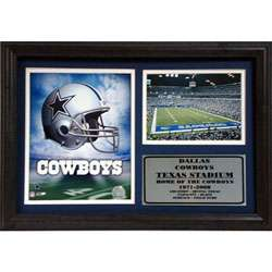 Dallas Cowboys Logo 12 x 18 Custom Framed Print
