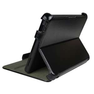 Kindle Fire Premium Leather Case Cover With Multi Angle Stand