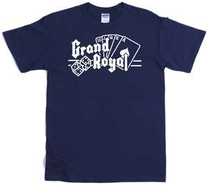 GRAND ROYAL RECORDS T SHIRT BEASTIE BOYS   CHOICE OF 10 COLOURS
