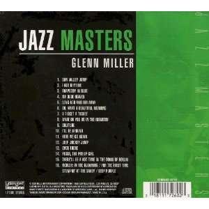 Jazz Masters Glenn Miller Glenn Miller Music