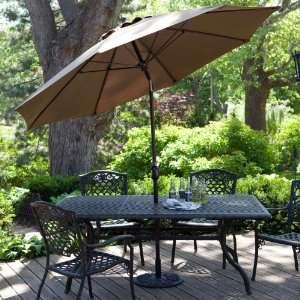 vintage aqua finkel patio umbrella w white fringe blue roses flowers mint. Black Bedroom Furniture Sets. Home Design Ideas