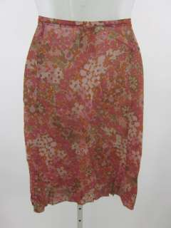 GIANFRANCO FERRE JEANS Multicolor Floral Print Skirt 26