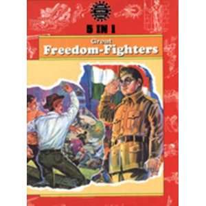 5 in 1:Freedom Fighters ( Amar Chitra Katha Comics