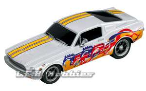 Carrera 61185 Go Ford Mustang 67 Custom 1/43 Slot Car