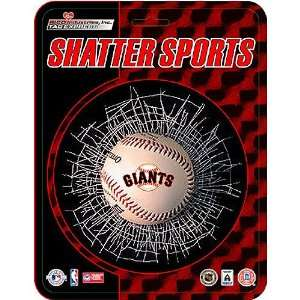 San Francisco Giants MLB Shatter Ball Window Decal by Rico