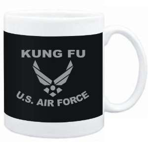 Mug Black  Kung Fu   U.S. AIR FORCE  Sports Sports