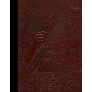 White Reprint) 1946 Yearbook Madison High School, Rochester, New York