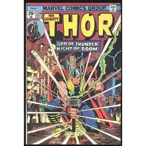 Thor, v1 #229. Nov 1974 [Comic Book] Marvel (Comic)