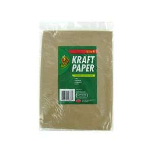 Kraft paper, 8 1/2 square feet (Each) By Bulk Buys: Everything Else