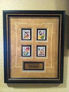 Extremely Rare USPS Framed Disney Postage Stamp Pin Sets (2004 2005
