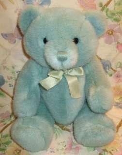 DAKIN 14 PLUSH LIGHT BABY BLUE TEDDY BEAR ALL JOINTED EX SHAPE