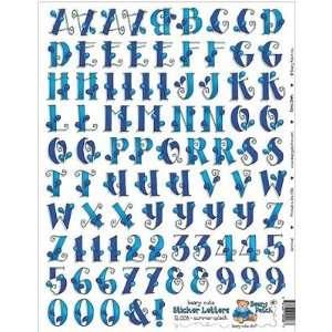 Bearypatch Beary Cute Alphabet Sticker Sheet Summer Splash