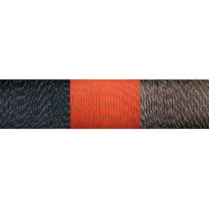 100 Feet Total Black/Olive Drab/Orange Reflective Paracord (550 Type