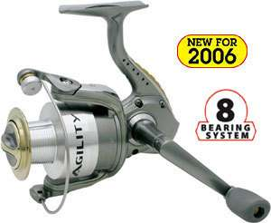 SHAKESPEARE AGILITY SPINNING REEL 6830 NEW