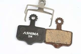 Ashima Disc Brake Pad,Semi Metal,AVID Elixir 3/5/7/9/R/CR,SRAM XX,0704