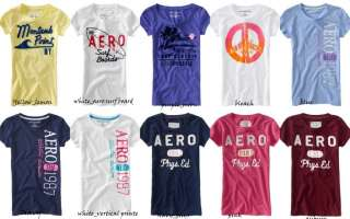 NWT Aeropostale women Short Sleeve T Shirt Top